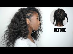 High bun using owigs clip in extensions hair clipins highbun side cornrows hairstyle with clip ins no heat minimal leave out side cornrowsno heathair extensionsminimalhairstyle pmusecretfo Choice Image