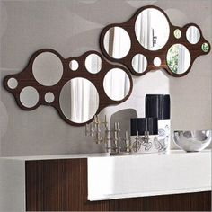 I really like this mirror, but might prefer one without the cool wood setting.