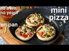 mini pizza recipe on tawa with instant homemade pizza sauce | pizza mini recipe with pizza sauce - YouTube Pakora Recipes, Paneer Recipes, Curry Recipes, Falooda Recipe, Rajma Recipe, Butter Masala Recipe, Mini Pizza Recipes, Sauce Pizza, Small Pizza