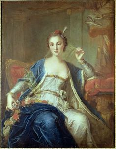 Portrait of a Lady in Turquerie (the fashion for all things Turkish), 1750 by Carle van Loo
