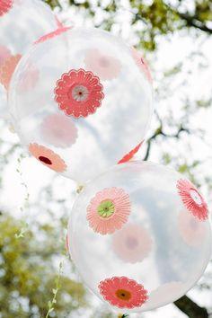 Design Improvised: Flower Balloons