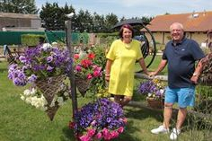 Loraine and Paul Prigg had been looking forward to their summer holiday at the seaside for months. Uk Campsites, Caravan Holiday, Lodges, Seaside, Outdoor Structures, Change, Holidays, Times, Plants