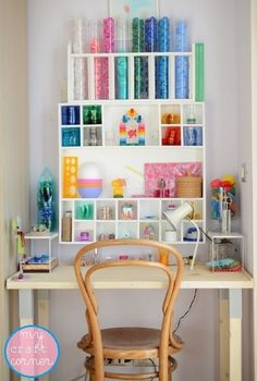 New look for my craft corner