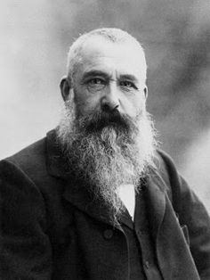 Oscar-Claude Monet [November 14, 1840 - December 5, 1926] was a founder of French Impressionist painting, and the most consistent and prolific practitioner of the movement's philosophy of expressing one's perceptions before nature, especially as applied to plein-air landscape painting.  Photo: 1899