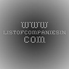 www.listofcompaniesin.com