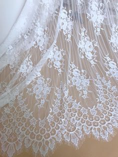 "4 Yards Black Beautiful ButterflyScalloped Stretch Lace Trim 1/"" S2-5 US SHIPPER"