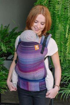 Girasol Upelkuchen Purpura Romana Weft Herringbone weave TULA BABY CARRIER