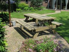 Picknicktafel Alexia xl 220 cm geimpregneerd - Webshop - Regenton.nl