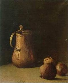 Emil Carlsen : Still life with copper pot, Copper Still, Copper Tea Kettle, American Impressionism, Copper Pots, Painting Still Life, Life Inspiration, Be Still, Landscape Paintings, Masters