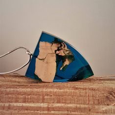 Wood with Turquoise resin pendant, wood/resin charm, wood/resin jewelry, Olive wood with Turquoise resin necklace, Wood and resin jewelry Epoxy, Resin Art, Hanger, Wood, Creative, Corner, Pendants, Jewellery, Wooden Jewelry
