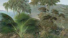colorful landscapes - Lombok color L450xH250cm - Ultra Matte - 5 widths of 90cm
