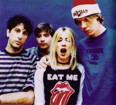 Sonic Youth. New York City. Noise rock alternative rock experimental rock indie rock post-punk no wave grunge.