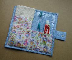 Kit Higiene Bucal Corujinhas