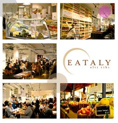 The most amazing food experience I've ever had....Eataly, NYC