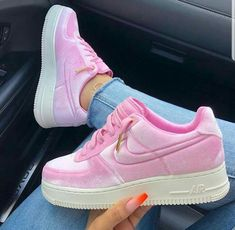 Top 10 Nike Air Force 1 Custom Kicks - Page 5 of 5 - Inspired Beauty Source by Shoes Nike Air Force, Air Force 1, Air Force Shoes, Basket Nike Air, Baskets Nike, Nike Roses, Sneakers Fashion, Shoes Sneakers, Women's Shoes