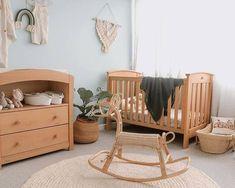 Boori Australia (@booriaustralia) • Instagram photos and videos Mint Nursery, Nursery Decor, Baby Boy Rooms, Baby Room, Bohemian Nursery, New Mums, Nursery Inspiration, Cot, Rocking Chair