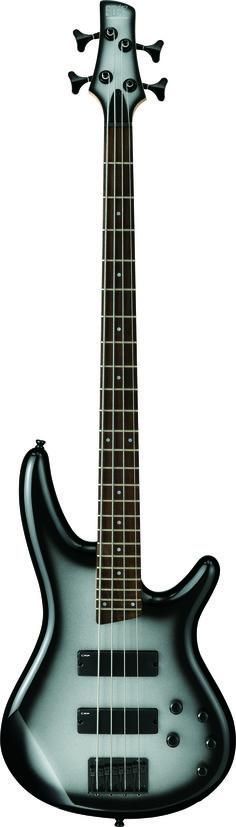 Ibanez SR250MSS SR Bass Guitar Mettalic Silver Sunburst