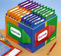 Journal Box  Lakeshore Learning Or Keeping Assessments And Child Info