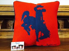 Jackson Hole #Needlepoint Pillow