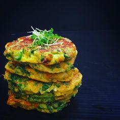Fritter mania - quickest power snack for hungry family folk - whip them up stack them up #feedacrowd #fastsnack