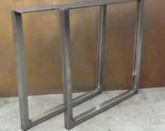 Metal Table Legs by THEUrbanIronCraft on Etsy