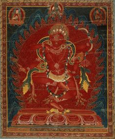TIBET Kurukulla (Red Tara), Tantric Buddhist Goddess.  Central Tibet, circa 1500-99.  Sakya and Ngor (Sakya) Lineages.