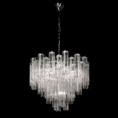 Murano Vintage Chandelier Crono For Sale