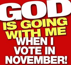 Yes he is...let's make our vote count!