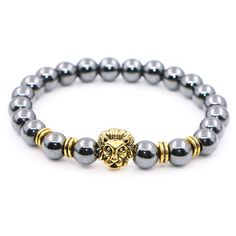 Stone Lion Bracelet