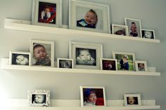 Alternative to hanging small photos.