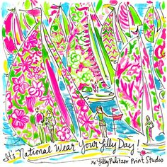 As if you needed another reason to wear your favorite Lilly outfit, TODAY is the first day of summer AKA National Wear Your Lilly Day. Celebrate a #SummerinLilly with us by sharing this custom 5x5 we made just for you or YOUR favorite Lilly look. #lilly5x5