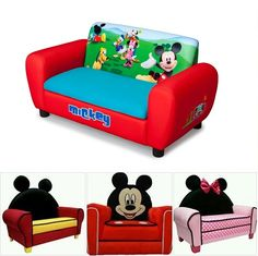 Awesome Mickey Mouse Sofa | Our Daily Ideas