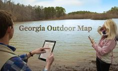 Discover NEW places to play with The Georgia Outdoor Map