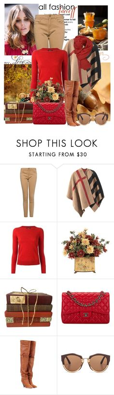 """"""""""" A Little Bit of Isabel Marant"""" by sophia561 ❤ liked on Polyvore featuring MANGO, Burberry, Isabel Marant, Chanel, Marni and Faliero Sarti"""