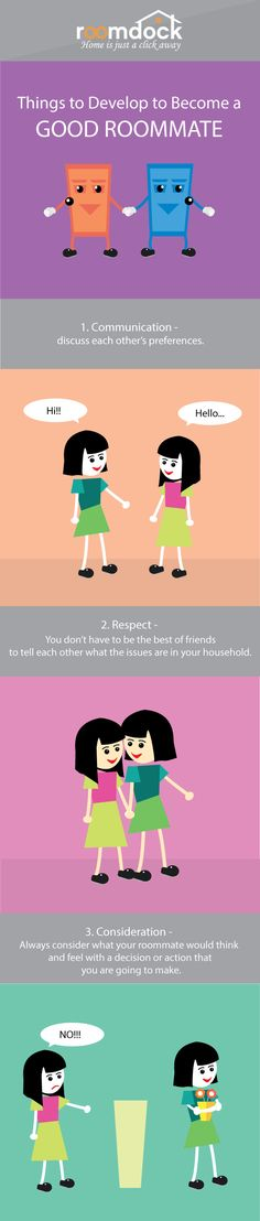 We could think of ways of how we could live with troublesome #roommates, but finding out that you actually are the bad roommate is a whole different kind of thing.  So if you want to know how to be a good #roommate. Follow these steps!   #roomdock #housing #offcampus #tip #college