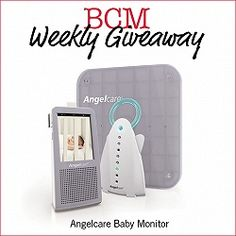 BCM Weekly Giveaway: Angelcare Baby Monitor