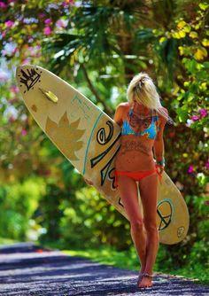 tatouage surf