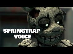 [SFM] Springtraps Voice Animated - Crashboombanger - YouTube Fnaf Song, The Voice, The Creator, Animation, Songs, Youtube, Animation Movies, Song Books, Youtubers