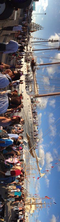 Gran Regata de 2012, puerto de Cádiz
