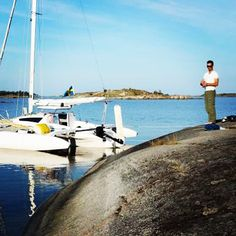 Father & son rented a Corsair Dash MkI for a four day summer father/son trip in Sweden. Here is their story along with some great photos (photo and story credit to Kjell Åström) - Read their full story on our Corsair Community at: sail.corsairmarine.com/father-son-sweden-sailing-adventure #sweden #swedishsailing #dash750mki #corsairmarine #sail #sailing #trimaran #trimarans #multihull #multihulls #yachts #ocean #nautical #sailingstagram