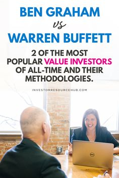 Learn the secrets of value investing, by following the expert advice of both Warren Buffet and his teacher Benjamin Graham. Value Investing, Investing In Stocks, Investing Money, Invest In Yourself Quotes, Learn Stock Market, Benjamin Graham, Stocks For Beginners, Best Way To Invest, Dividend Investing