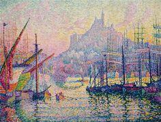 Quem ensinou esta técnica a Paul Signac foi Georges Seurat o qual foi considerado o iniciador desta corrente artística. Signac era um amante de barcos