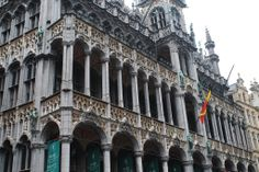 facade by grande place in bruxelles