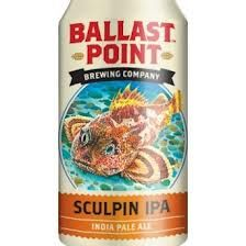 Ballast Point Sculpin. Fantastic India Pale Ale from a great brewery in Southern California.