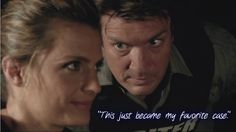 This just became my favorite case.~~This scene was so hilarious coz Beckett was smiling before Castle even had the words out of his mouth. She totaly knew what he was going to say. :D