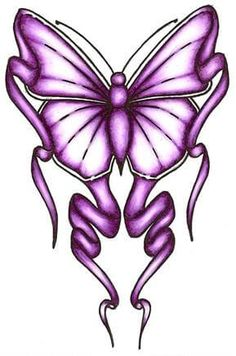 60 Awesome free butterfly tattoo designs + the meaning of butterfly tattoos. Designs include: feminine, tribal and lower back butterfly tattoos. Purple Butterfly Tattoo, Butterfly Tattoo Cover Up, Butterfly Outline, Butterfly Tattoo Meaning, Butterfly Tattoo On Shoulder, Butterfly Tattoos For Women, Butterfly Tattoo Designs, Green Butterfly, Butterfly Canvas