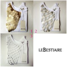 Volatiles white sweat via lebestiaire. Click on the image to see more!