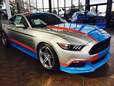 It's here!  #4 of 43 2017 PETTY'S GARAGE MUSTANG 80th Tribute Edition 825HP Whipple Supercharger Autographed by Richard Petty! Call Stacia for details 720-434-7375