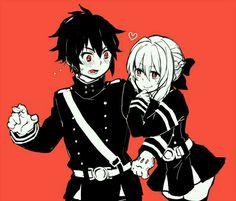Shinoa and yuu