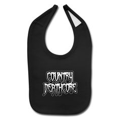 SICKIE THREADS | COUNTRY DEATHCORE - Baby Bib
